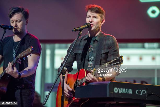Musician James Blunt performs at the Build Series at Build Studio on March 1 2017 in New York City