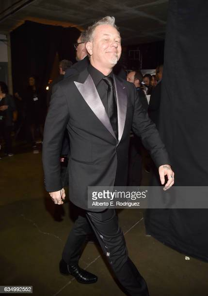 Musician James Hetfield of Metallica attends The 59th GRAMMY Awards at STAPLES Center on February 12 2017 in Los Angeles California