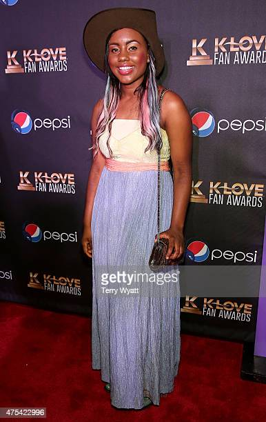 Musician Jamie Grace attends the 3rd Annual KLOVE Fan Awards at the Grand Ole Opry House on May 31 2015 in Nashville Tennessee