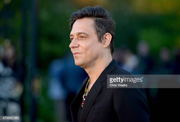 Musician Jamie Hince of The Kills attends the Burberry 'London in Los Angeles' event at Griffith Observatory on April 16 2015 in Los Angeles...