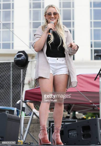 Musician Jamie Lynn Spears performs during day 4 of the 2017 CMA Music Festival on June 11 2017 in Nashville Tennessee