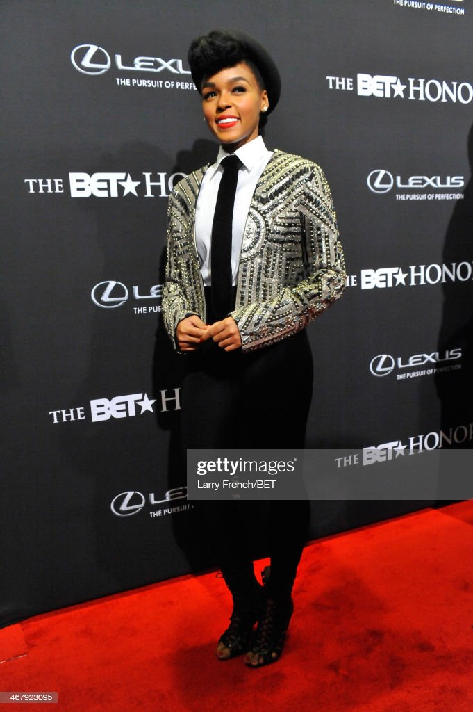 Musician <a gi-track='captionPersonalityLinkClicked' href=/galleries/search?phrase=Janelle+Monae&family=editorial&specificpeople=715847 ng-click='$event.stopPropagation()'>Janelle Monae</a> attends BET Honors 2014 at Warner Theatre on February 8, 2014 in Washington, DC.