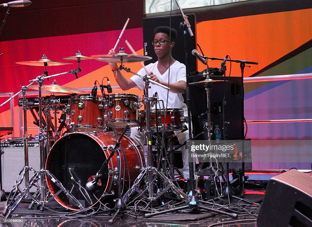 Musician Jarad Dawkins of Unlocking the Truth performs on the BETX stage during the 2016 BET Experience on June 26, 2016 in Los Angeles, California.