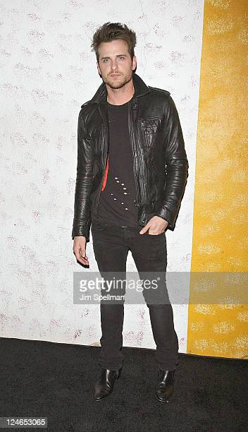 Musician Jared Followill attends the Barneys New York Fete In Honor Of Carine Roitfeld at The Westway on September 10 2011 in New York City