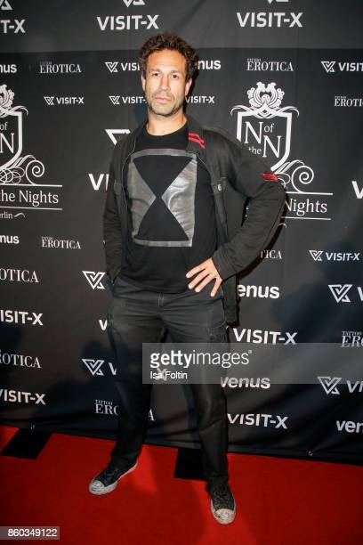US musician Jared Hasselhoff attends the 'Nights of The Nights' event at Amano Grand Central on October 11 2017 in Berlin Germany
