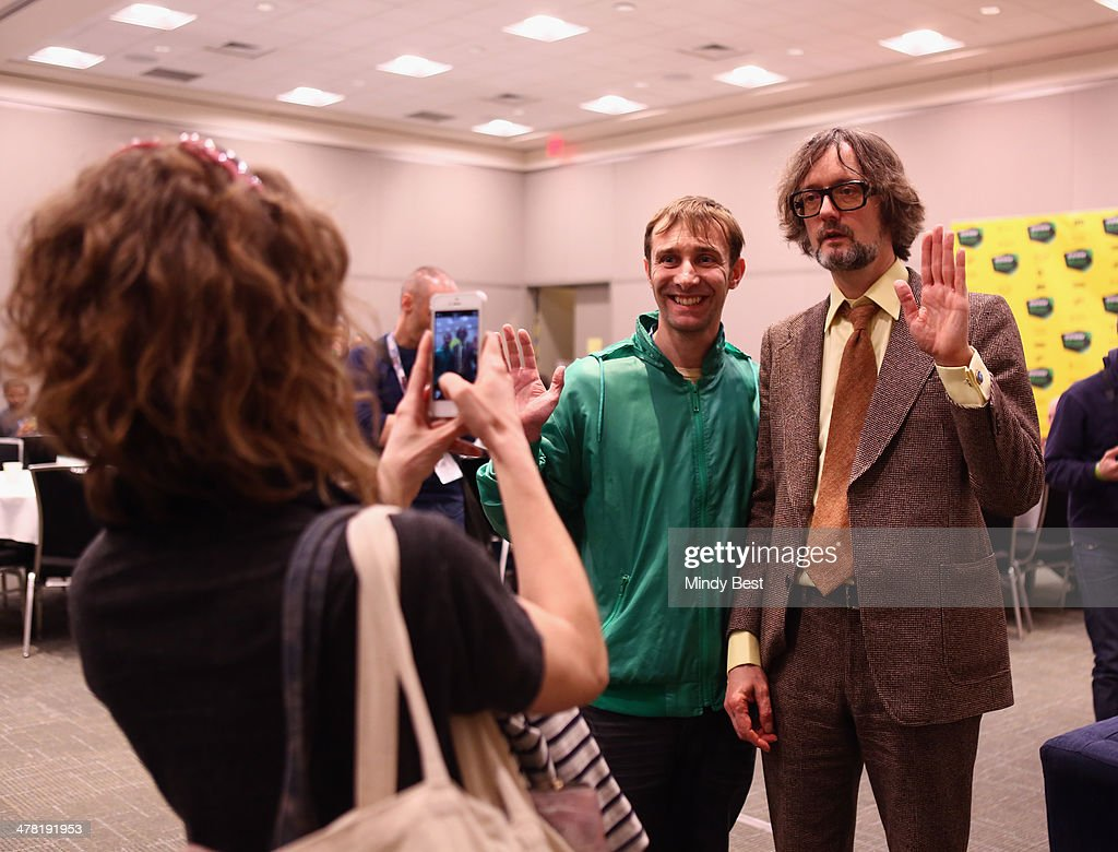Musician Jarvis Cocker (R) attends SXSW Featured Speaker: Jarvis Cocker during the 2014 SXSW Music, Film + Interactive Festival at Austin Convention Center on March 12, 2014 in Austin, Texas.