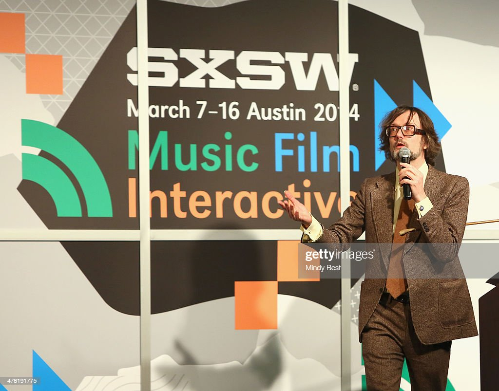 Musician <a gi-track='captionPersonalityLinkClicked' href=/galleries/search?phrase=Jarvis+Cocker&family=editorial&specificpeople=234955 ng-click='$event.stopPropagation()'>Jarvis Cocker</a> speaks onstage at SXSW Featured Speaker: <a gi-track='captionPersonalityLinkClicked' href=/galleries/search?phrase=Jarvis+Cocker&family=editorial&specificpeople=234955 ng-click='$event.stopPropagation()'>Jarvis Cocker</a> during the 2014 SXSW Music, Film + Interactive Festival at Austin Convention Center on March 12, 2014 in Austin, Texas.