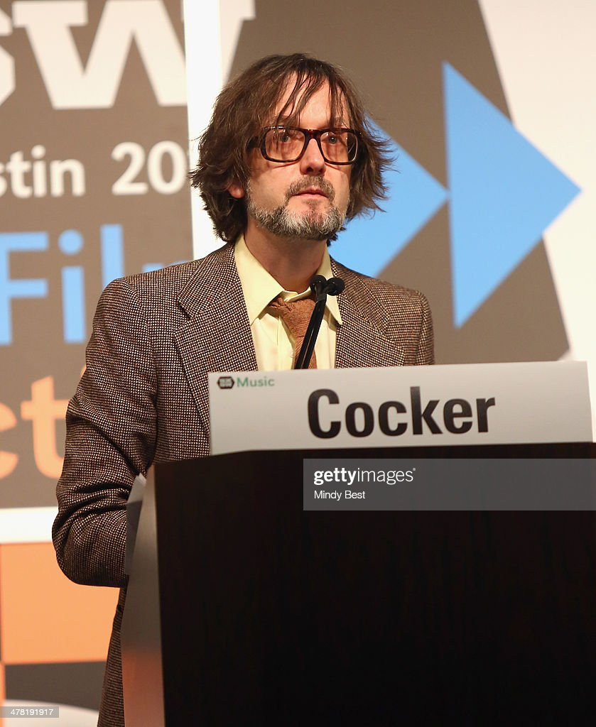 Musician Jarvis Cocker speaks onstage at SXSW Featured Speaker: Jarvis Cocker during the 2014 SXSW Music, Film + Interactive Festival at Austin Convention Center on March 12, 2014 in Austin, Texas.