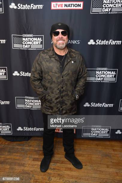 Musician Jason Bonham attends Live Nation's celebration of The 3rd Annual National Concert Day at Irving Plaza on May 1 2017 in New York City