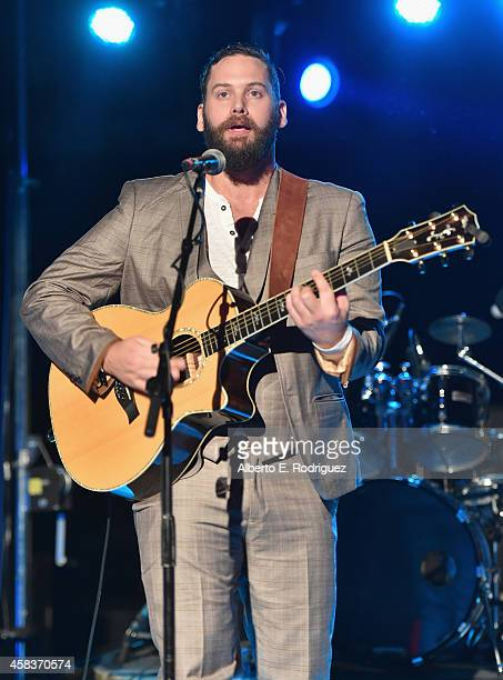 Musician Jason Manns attends the CW's Fan Party to Celebrate the 200th episode of 'Supernatural' on November 3 2014 in Los Angeles California