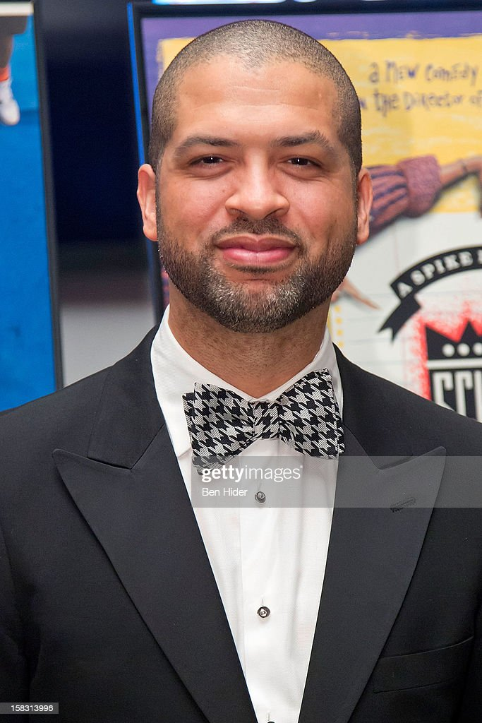 Musician Jason Moran attends The Museum of Modern Art's Jazz Interlude Gala at MOMA on December 12, 2012 in New York City.