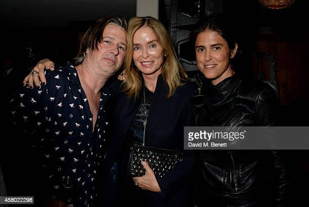 Musician Jason Starkey Barbara Bach and Francesca Gregorini attend the Teen Cancer America Fundraiser hosted by Darren Strowger Roger Daltrey and...