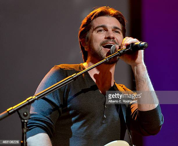 Musician Jaunes performs onstage during the world premiere of 'McFarland USA' at The El Capitan Theatre on February 9 2015 in Hollywood California