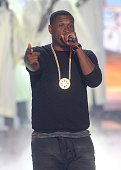 Musician Jay Electronica performs onstage during the BET Hip Hop Awards 2014 at Boisfeuillet Jones Atlanta Civic Center on September 20 2014 in...
