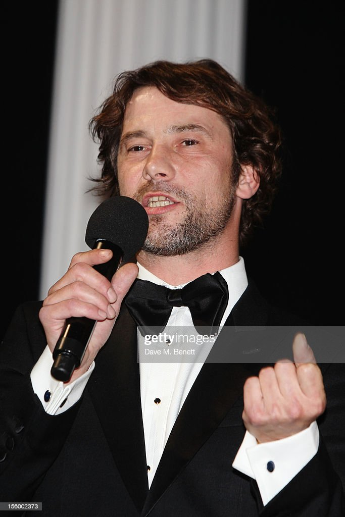 Musician Jay Kay attends the Grey Goose Winter Ball at Battersea Power Station on November 10, 2012 in London, England.