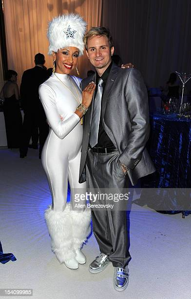 Musician Jaysin Voxx attends the Beckstrand Cancer Foundation's 9th annual Diamond Pearl Ball 'An Evening in Russia' at Moscow Red Square on October...