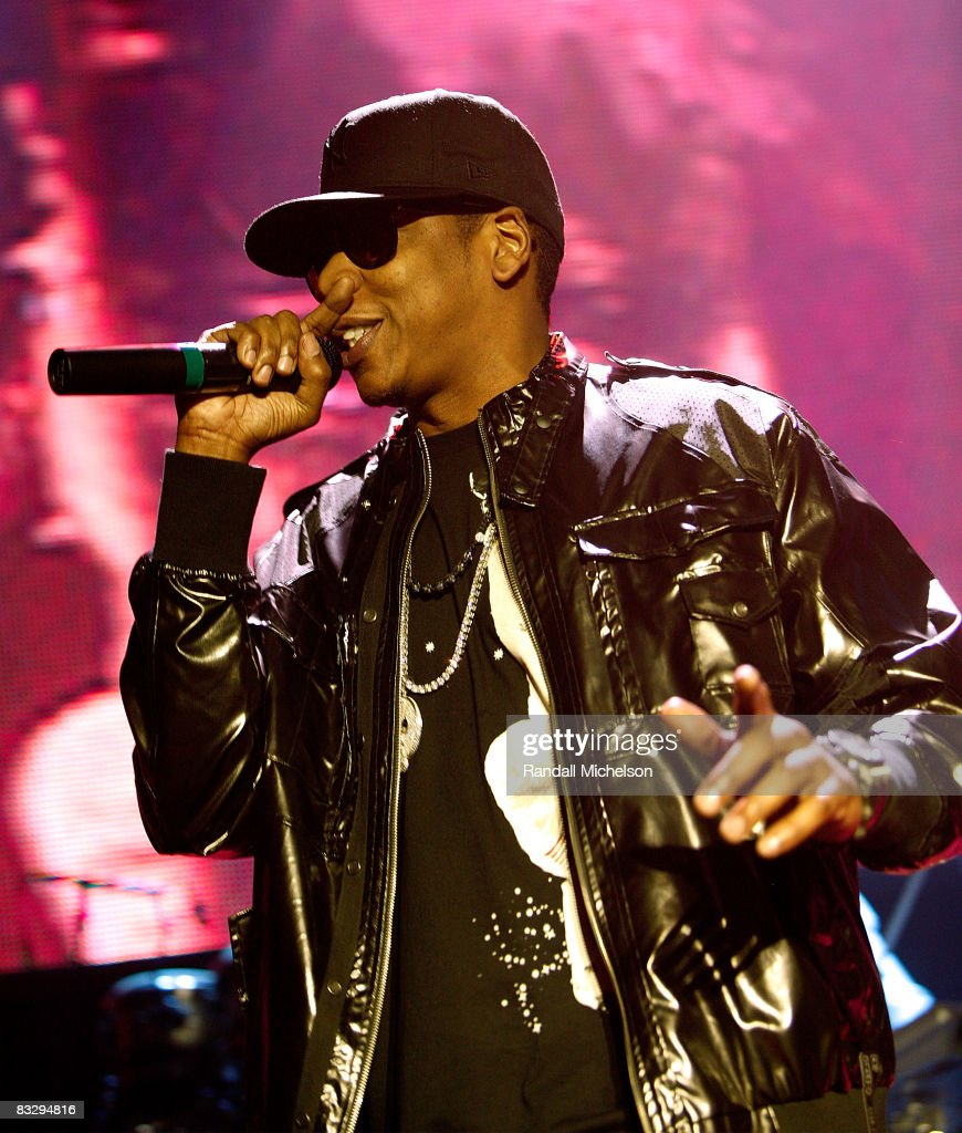 Musician <a gi-track='captionPersonalityLinkClicked' href=/galleries/search?phrase=Jay-Z&family=editorial&specificpeople=201664 ng-click='$event.stopPropagation()'>Jay-Z</a> performs at the Grand Reopening of the The Palladium with a Special Performance by <a gi-track='captionPersonalityLinkClicked' href=/galleries/search?phrase=Jay-Z&family=editorial&specificpeople=201664 ng-click='$event.stopPropagation()'>Jay-Z</a> in Los Angeles California on October 15, 2008.