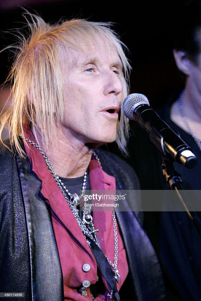 Musician Jed Leiber performs onstage at the Sunset Marquis Hotel 50th Anniversary Birthday Bash at Sunset Marquis Hotel & Villas on November 16, 2013 in West Hollywood, California.