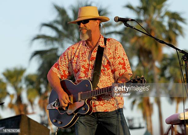 Musician Jeff Bridges performs onstage during day 1 of 2013 Stagecoach California's Country Music Festival at The Empire Polo Field on April 26 2013...