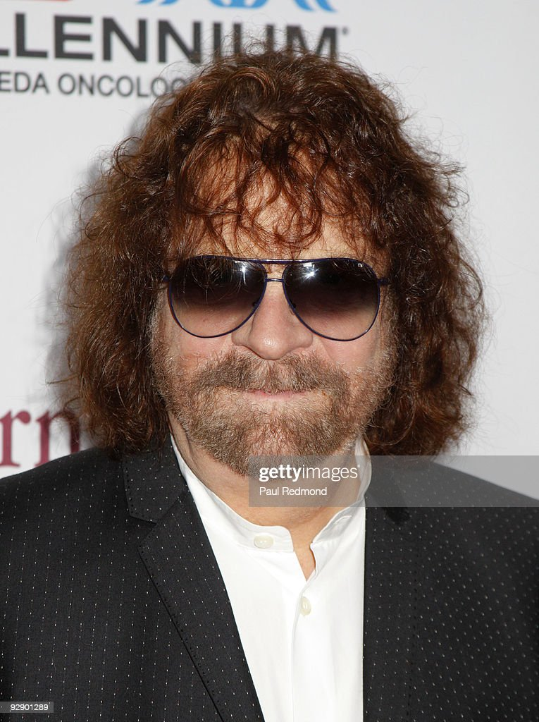 Musician Jeff Lynne of ELO arrives at the 3rd Annual Comedy Celebration For The Peter Boyle Memorial Fund at The Wilshire Ebell Theatre on November 7, 2009 in Los Angeles, California.