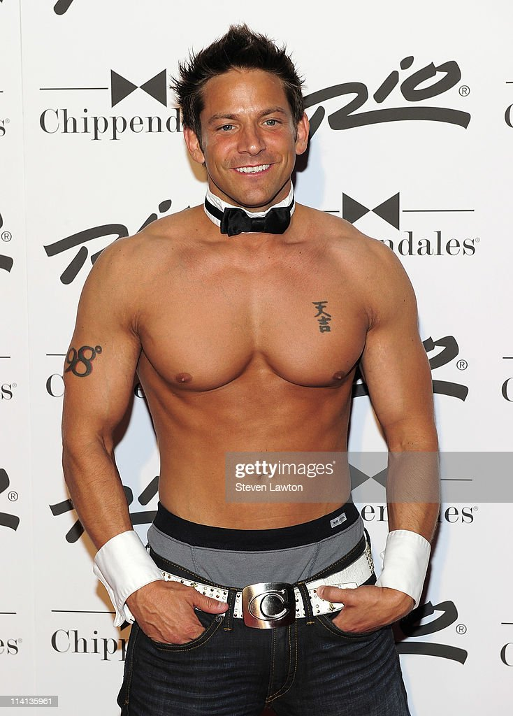 Jeff Timmons Of 98 Degrees Joins The Cast Of Chippendales Las Vegas - Opening Night