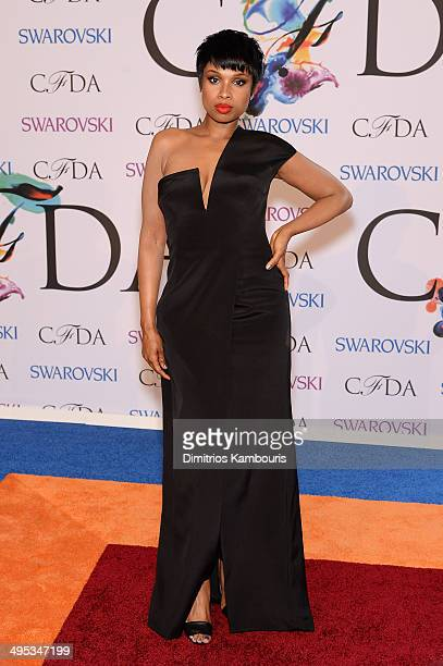 Musician Jennifer Hudson attends the 2014 CFDA fashion awards at Alice Tully Hall Lincoln Center on June 2 2014 in New York City