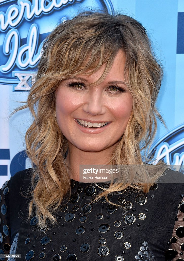 Musician Jennifer Nettles attends Fox's 'American Idol' XIII Finale at Nokia Theatre L.A. Live on May 21, 2014 in Los Angeles, California.