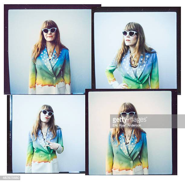 Musician Jenny Lewis is photographed on polaroid film for Billboard Magazine on June 7 2015 in New York City ON DOMESTIC EMBARGO UNTIL SEPTEMBER 15...