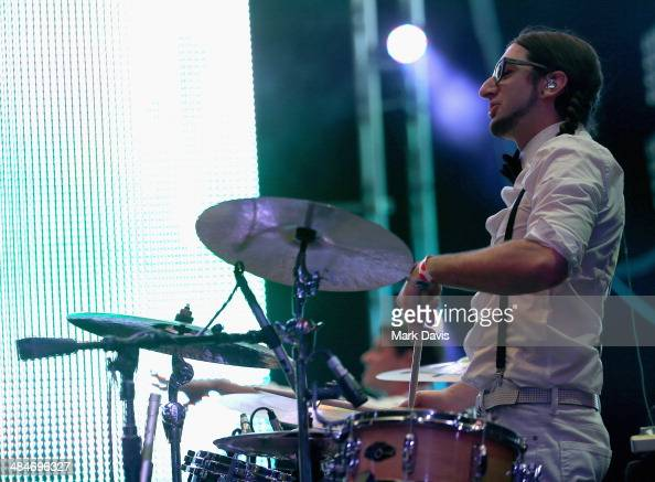 Musician Jeremy Salken of Big Gigantic performs onstage during day 3 of the 2014 Coachella Valley Music Arts Festival at the Empire Polo Club on...