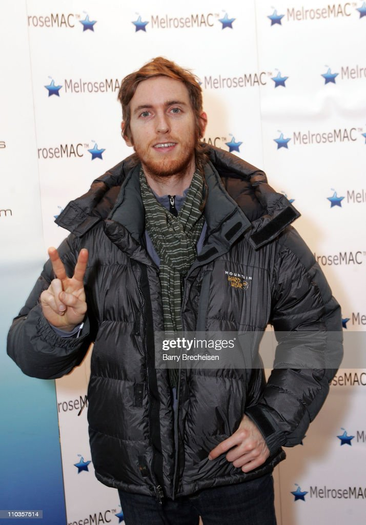 Musician Jesse Carmichael of Maroon 5 attends the Kari Feinstein Style Lounge at MelroseMAC on January 18, 2008 in Park City, Utah.