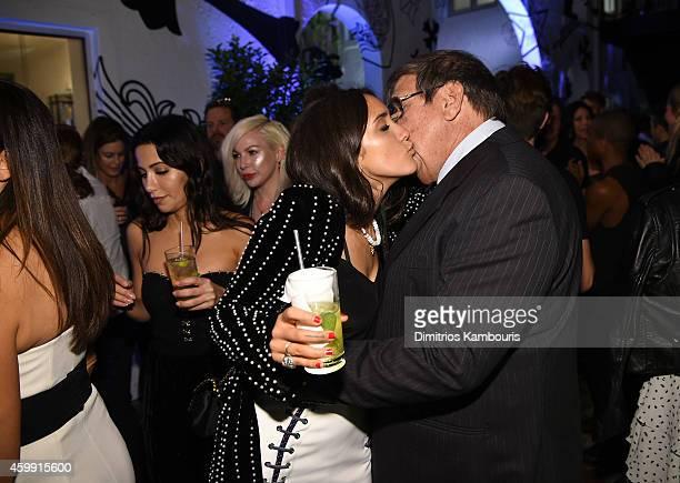 Musician Jesse Jo Stark and Herman Solomon attend Chrome Hearts Celebrates The Miami Project During Art Basel With Zoe Kravitz at Miami Design...