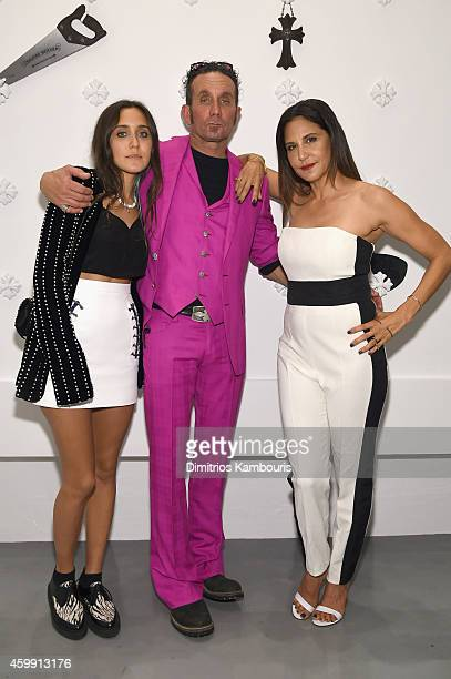 Musician Jesse Jo Stark Chrome Hearts Founders Richard Stark and Laurie Lynn Stark attend Chrome Hearts Celebrates The Miami Project During Art Basel...