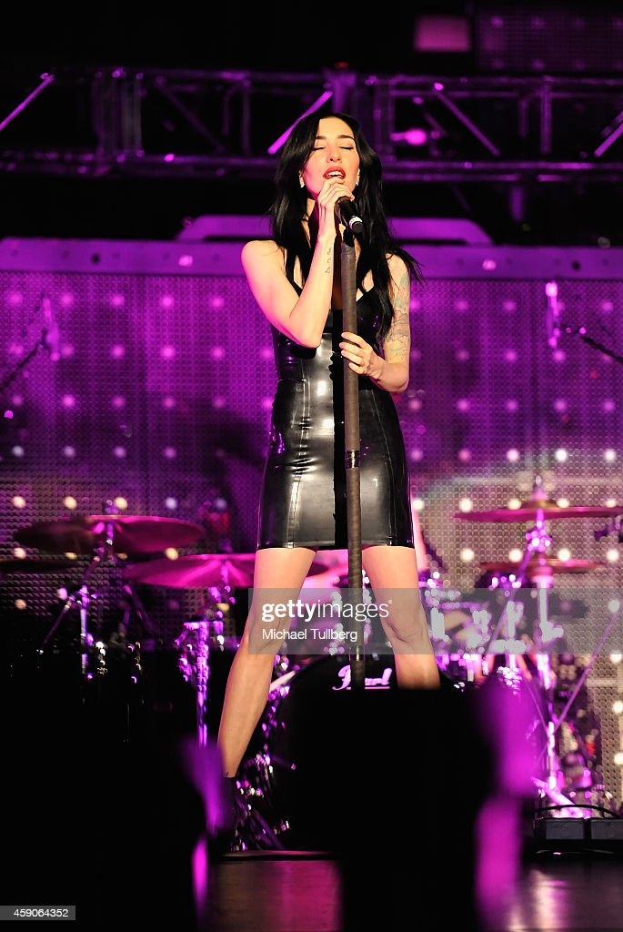 jess origliasso and michael clifford. musician jessica origliasso of the veronicas performs at forum on november 15, 2014 in jess and michael clifford i