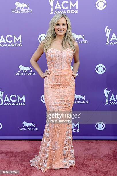 Musician Jewel arrives at the 48th Annual Academy of Country Music Awards at the MGM Grand Garden Arena on April 7 2013 in Las Vegas Nevada