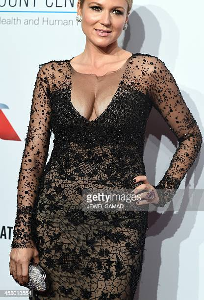 Musician Jewel arrives to attend the Elton John AIDS Foundation's 13th Annual An Enduring Vision Benefit on October 28 2014 in New York AFP...