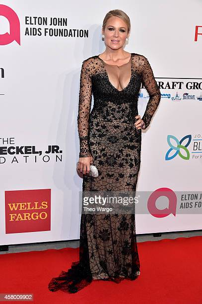 Musician Jewel attends the Elton John AIDS Foundation's 13th Annual An Enduring Vision Benefit at Cipriani Wall Street on October 28 2014 in New York...