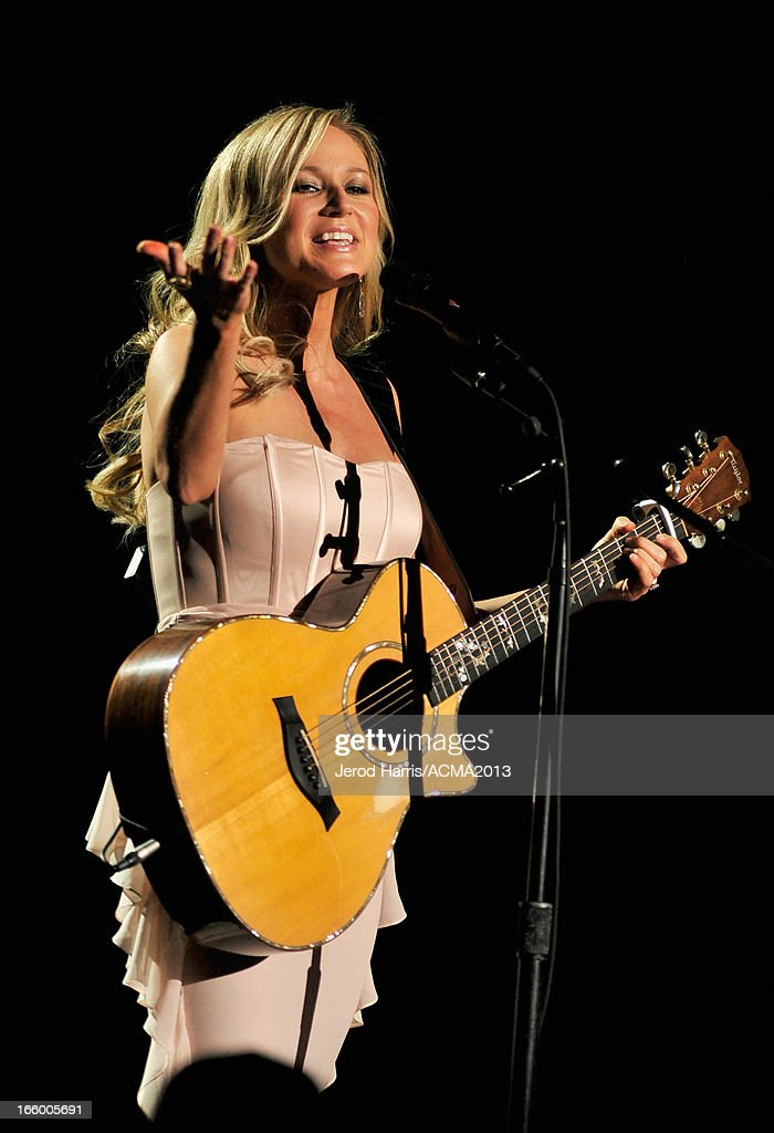 Musician Jewel performs onstage during the 48th Annual Academy Of Country Music Awards - ACM Fan Jam at Orelans Arena on April 7, 2013 in Las Vegas, Nevada.