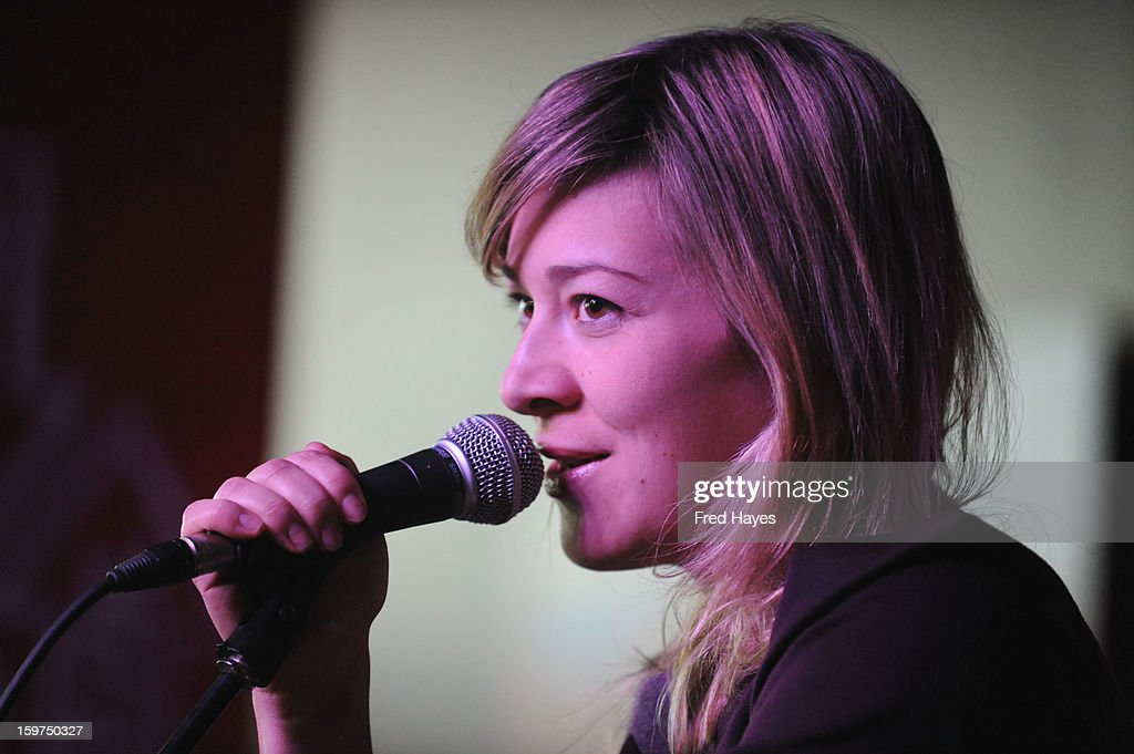 Musician Jill Barber performs onstage during Day 2 of ASCAP Music Cafe at Sundance ASCAP Music Cafe during the 2013 Sundance Film Festival on January 19, 2013 in Park City, Utah.