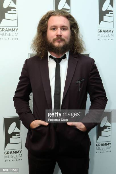 Musician Jim James at An Evening With Jim James at The GRAMMY Museum on September 18 2013 in Los Angeles California