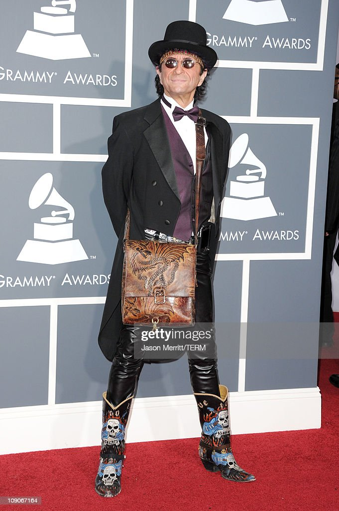 Musician Jim Peterik arrives at The 53rd Annual GRAMMY Awards held at Staples Center on February 13, 2011 in Los Angeles, California.