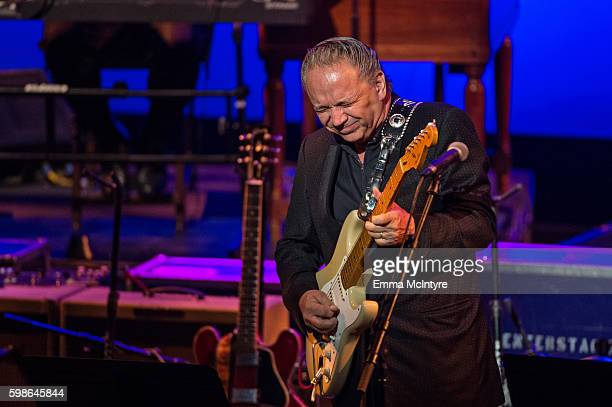 Musician Jimmie Vaughan performs onstage at Icon The Life And Legacy Of BB King a live tribute concert presented by the GRAMMY Foundation and GRAMMY...