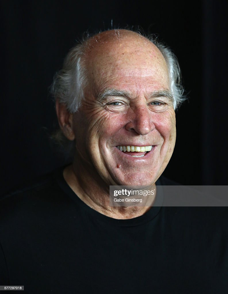 Musician Jimmy Buffett attends the premiere of Universal Pictures' 'Jason Bourne' at The Colosseum at Caesars Palace on July 18, 2016 in Las Vegas, Nevada.
