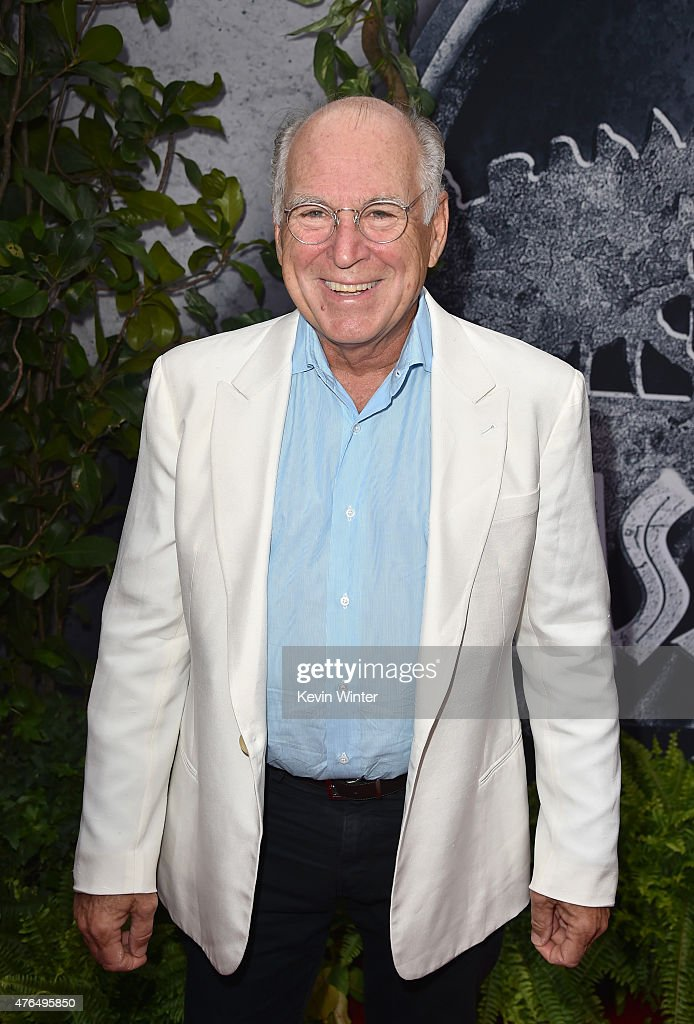 Musician Jimmy Buffett attends the Universal Pictures' 'Jurassic World' premiere at the Dolby Theatre on June 9, 2015 in Hollywood, California.