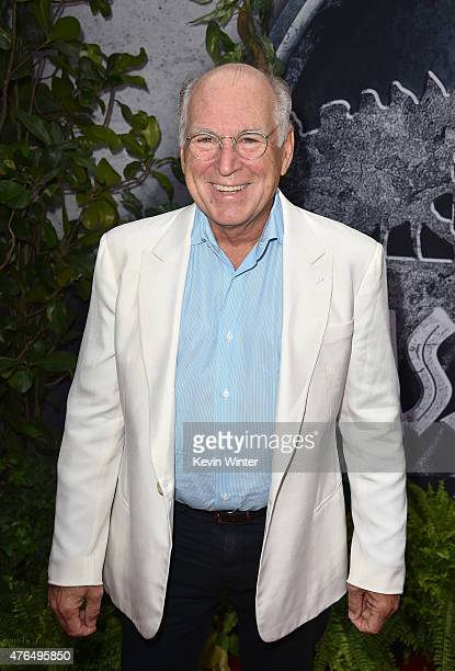 Musician Jimmy Buffett attends the Universal Pictures' 'Jurassic World' premiere at the Dolby Theatre on June 9 2015 in Hollywood California