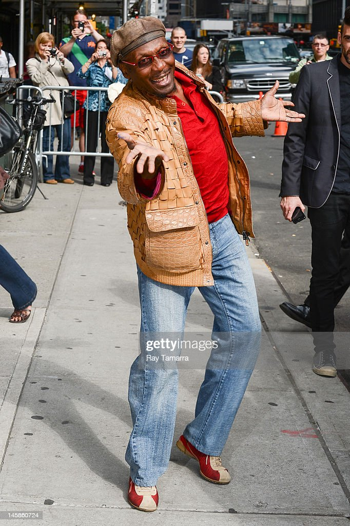 Musician Jimmy Cliff leaves the 'Late Show With David Letterman' taping at the Ed Sullivan Theater on June 6 2012 in New York City