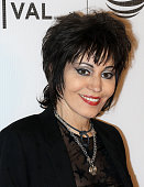 Musician Joan Jett attends the 'Geezer' premiere during the 2016 Tribeca Film Festival at Spring Studios on April 23 2016 in New York City