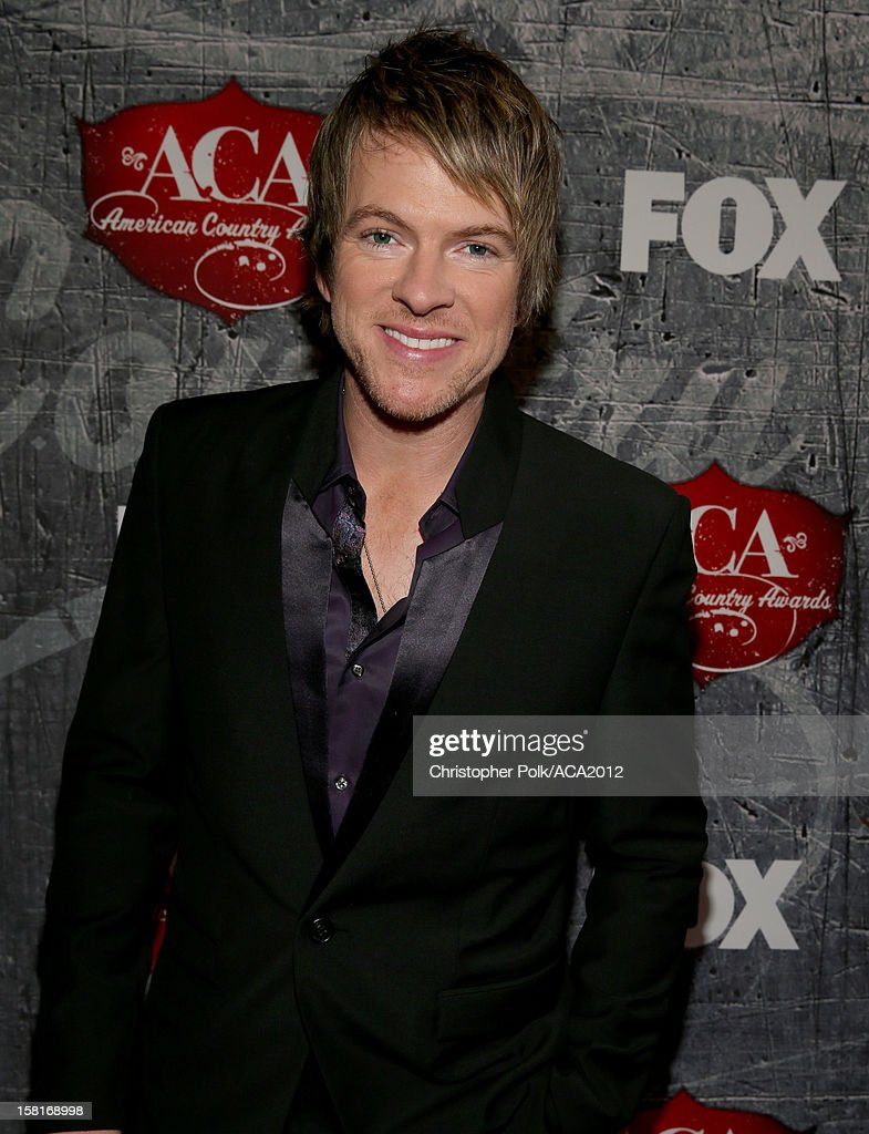 Musician Joe Don Rooney of Rascal Flatts arrives at the 2012 American Country Awards at the Mandalay Bay Events Center on December 10, 2012 in Las Vegas, Nevada.