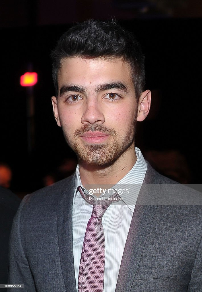 Musician Joe Jonas attends the Maxim Party Powered by Motorola Xoom at Centennial Hall at Fair Park on February 5, 2011 in Dallas, Texas.