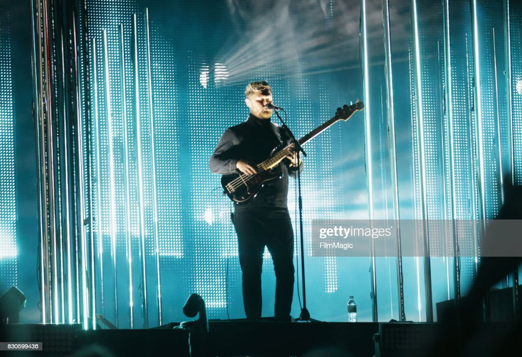 Musician Joe Newman of Alt-J performs on the Twin Peaks Stage during the 2017 Outside Lands Music And Arts Festival at Golden Gate Park on August 11, 2017 in San Francisco, California.
