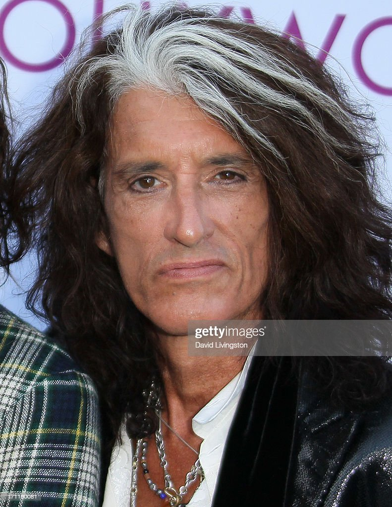 Musician <a gi-track='captionPersonalityLinkClicked' href=/galleries/search?phrase=Joe+Perry+-+Muzikant&family=editorial&specificpeople=13600677 ng-click='$event.stopPropagation()'>Joe Perry</a> attends Opening Night at The Hollywood Bowl 2013 at The Hollywood Bowl on June 22, 2013 in Los Angeles, California.